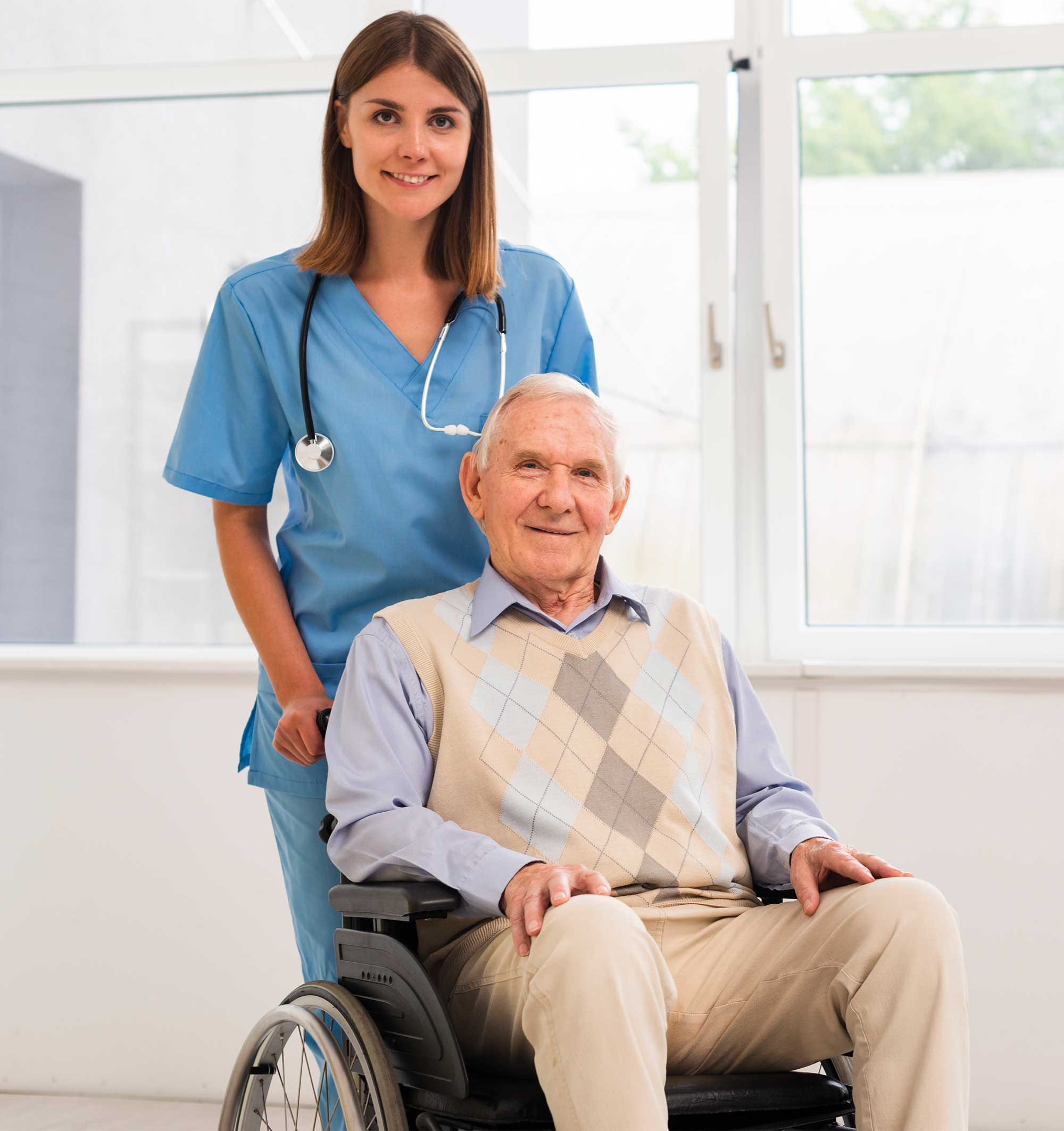 An old man seeking age care services at Healthcare Evolution centre, Doctors in Hunter Region