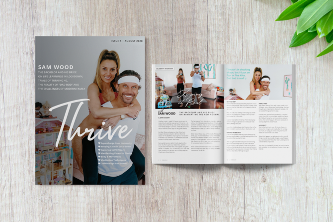 Welcome to Thrive Magazine Issue 1