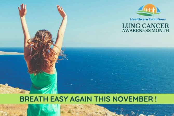 Lung Cancer Awareness Month: Breath easy again this November